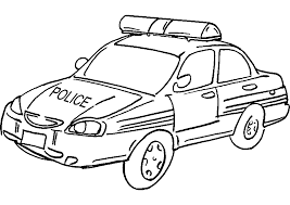 police car 10 transportation u2013 printable coloring pages