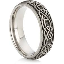 wedding rings direct wedding rings direct tnm 3583 titanium ring with celtic
