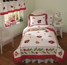 Ladybug Kitchen Decor Nursery Cute And Smooth Ladybug Crib Bedding For Sweet Nursery