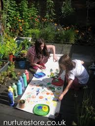 Family Garden Design Ideas - small family gardens