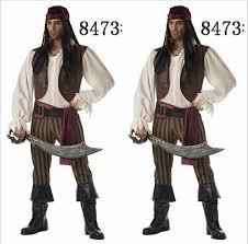men pirate costume halloween pirate costumes for men cosplay