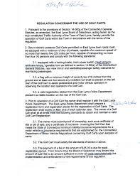 golf cart regulations oswegatchie hills club