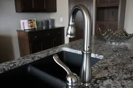 sinks faucets modern stylish pull out stainless steel kitchen