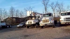 1996 gmc topkick versalift forestry bucket truck diesel 3116 cat