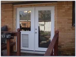 doggie door in glass door glass door with pet door built in