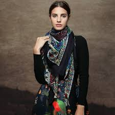 scarf or shawl picture more detailed picture about dark blue