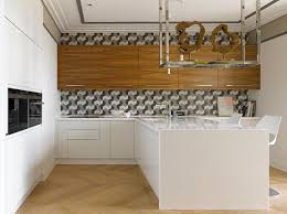 geometric backsplash designs and kitchen décor possibilities