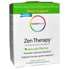 rainbow light multivitamin side effects rainbow light zen therapy 30 tablets iherb com