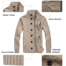 mens cardigan sweater mens cardigans casual knitted thicken turtleneck style