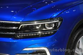 tiguan volkswagen lights vw tiguan gte concept headlight at the 2015 tokyo motor show