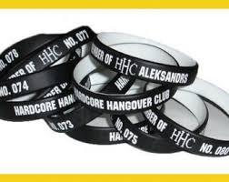 metal silicone bracelet images Rubber bracelet etsy jpg