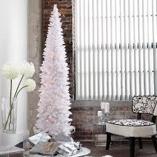 pencil christmas tree winter park pre lit pencil christmas tree walmart