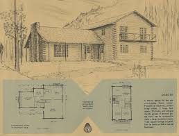 vintage log cabin plans 6 antique alter ego