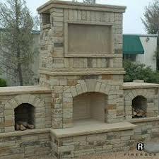 Firerock Masonry Fireplace Kits by 36 In Firerock Arched Masonry Outdoor Wood Burning Fireplace