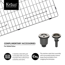 How To Buy A Kitchen Faucet Kraus Khu103 33 33 Inch Undermount 60 40 Double Bowl 16 Gauge