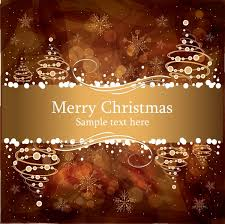 brown christmas poster gorgeous christmas poster vector free vector in encapsulated