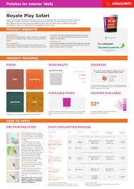 royale play safari asian paints pdf catalogues documentation