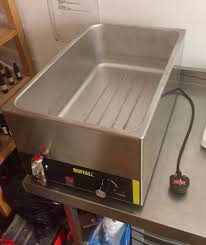 Nisbets by Catering Bain Marie By Buffalo Hardy Used Bought From Nisbets In