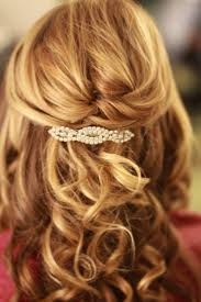 half updos for medium length hairstyles and haircuts