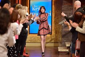 kelli johnson dakota johnson at u0027live with kelly u0026 michael u0027 in nyc