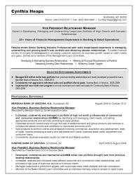 banking loan resume example investment banking resume page 2 loan