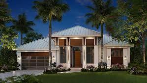 Florida Home Design House Plan 75989 Coastal Contemporary Florida Plan With 2684 Sq