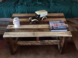 rustic wood pallet coffee table pallet furniture plans