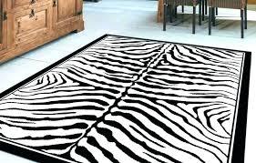 Zebra Print Area Rug 8x10 Zebra Throw Rug Tapinfluence Co