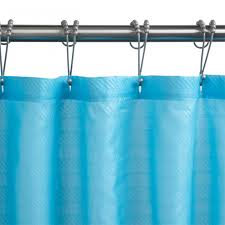 Teal Ruffle Shower Curtain by Burlap Ruffle Shower Curtains Diy Ruffled Shower Curtain