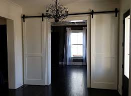 decor u0026 tips chandelier and barn doors interior with how to build