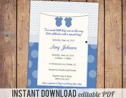themes twin baby shower invitations australia plus twin baby