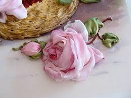 silk ribbon roses small silk ribbon ribbon embroidery by tatiana popova of