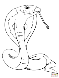 king cobra coloring page free printable coloring pages