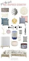 get the look u002780s inspired geometric home decor emmerson and