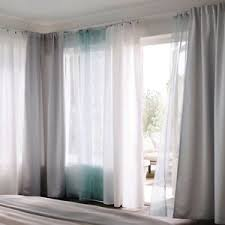 Turquoise Sheer Curtains Ikea Teresia Sheer Curtains 1 Pair White Or Turquoise For