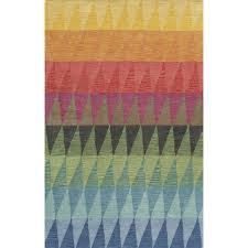 Modern Rugs Reviews Eli Tufted Blue Green Yellow Rug Reviews