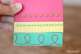 homemade christmas cards crafts unleashed