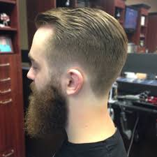 short hairstyle for men with beard comb over haircut for men