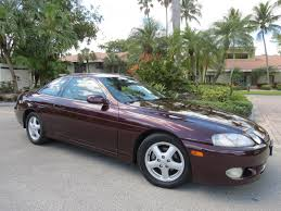 jm lexus pompano beach stunning 1998 lexus sc300 coupe 1 owner leather moon ruby red