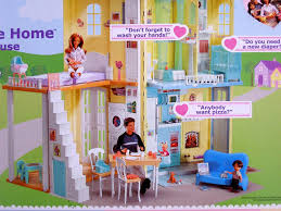 amazon com barbie happy family sounds like home smart house