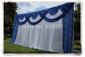 Blue Swag Curtains Blue Swag Curtains Ideas Mellanie Design