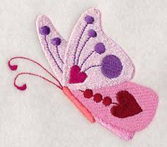 butterfly kisses border design h9881 from emblibrary com