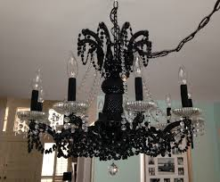 Painted Chandelier Black Chandelier Painted Closdurocnoir