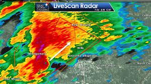 Houston Weather Map Tornado Warning Montgomery Walker Counties Se Tx Till 8am