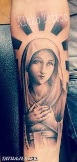 imagenes tatuajes de la virgen maria virgen maria tatuajes 123