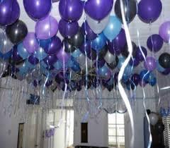 party balloon ideas blue balloons sweet 16 and birthdays