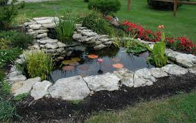 garden pond kits home outdoor decoration