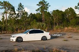 bagged e90 msport velgen wheels