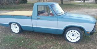 1980 ford courier mini truck rat rod 2 3 bagged for sale in