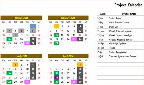 excel calendar template excel calendar 2017 2018 or any year